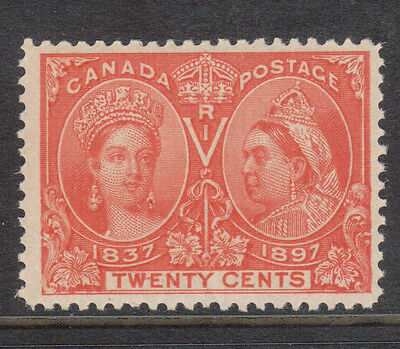 "Canada #59ii VF/NH Re-Entry In ""WE"" Pos 21 **With Certificate**"