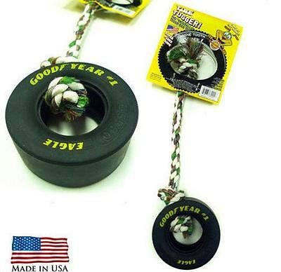 Goodyear Eagle Tire Tugger Dog Pet Toy - Tough - Cleans Teeth - NEW