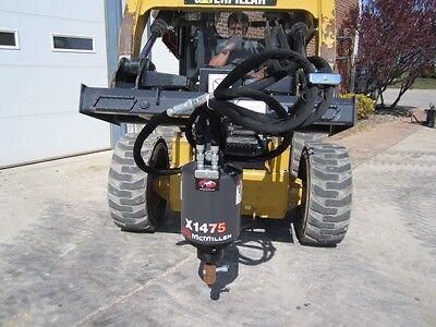 McMillen Skid Steer Loader X1475 Auger Drive Attachment 10-25 GPM Free Shipping