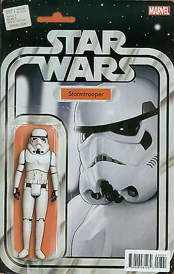 Star Wars #7 Stormtrooper Action Figure Christopher Variant (Marvel Comics 2015)
