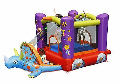 Inflatable Bouncy Castle with Playpen - Dino's Inflatable Childrens Playground