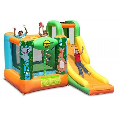 Inflatable Bouncy Castle with Slide - Jungle Adventure Games for Kids - 10ft