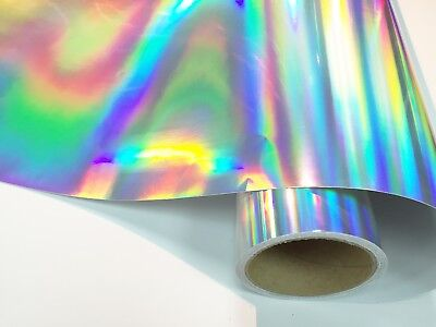 "12"" X 10'ft - Holographic Craft & Hobby Cutting Vinyl Film"