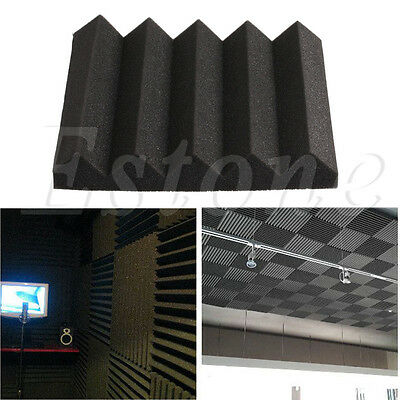 30x30x5cm Acoustic Soundproof Sound Thick Absorption Pyramid Studio Foam Board