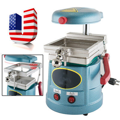 USA! 1000W Dental Lab Vacuum Former Forming Molding Machine Heat Thermoforming
