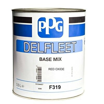 Ppg Base Tintometrica Delfleet Industriale F319 Rosso Ossido 3,5Lt
