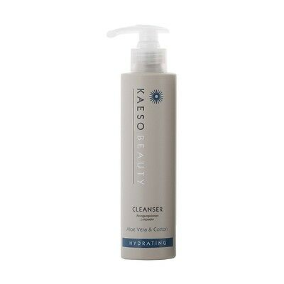 Kaeso Hydrating Skin Cleanser 195ml removes build up and make-up