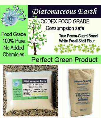1/4lb 4oz Perma-Guard Pure Food Grade Diatomaceous Earth All Natural No Additive