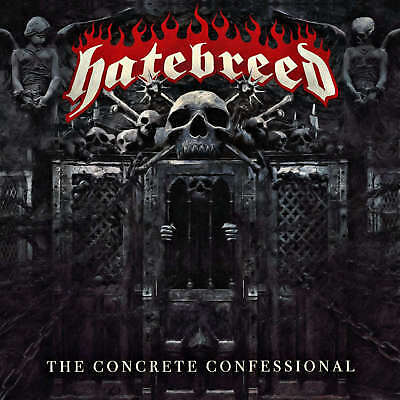 HATEBREED - The Concrete Confessional - Vinyl-LP - clear Vinyl
