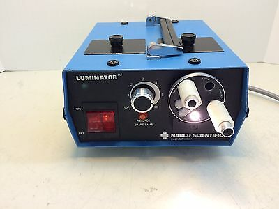 Narco Scientific Luminator Fiber Optic Illuminator 90 Days Warranty