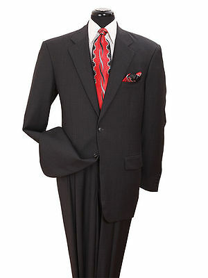 Men's Suit,Gary Suit, 2-Button Single Breasted with Pants Black, Burgundy,Gray