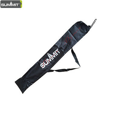 Hiking Trekking Pole Walking Stick Long Bag Cover Holder Shoulder Strap Holds 2