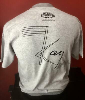 MEDIUM LARGE AND EXTRA LARGE KAY GUITAR  T-SHIRT #1 AVAILABLE SIZE: SMALL