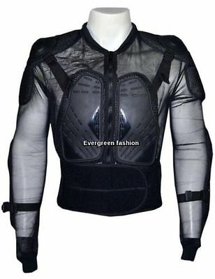 BODY ARMOUR motorcycle Motorbike Motocross Back Spine Elbow Shoulder Protector