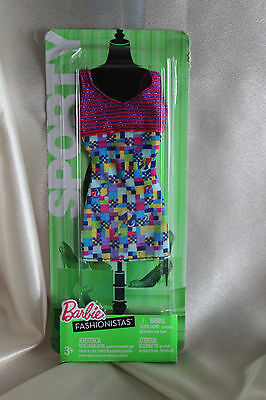 New Barbie Fashionistas Sporty Fashion dress N4875 NIP