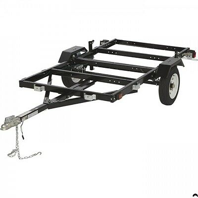 3 Way Folding Trailer/utilitytrailer - Flat Deck & Boat Trailer