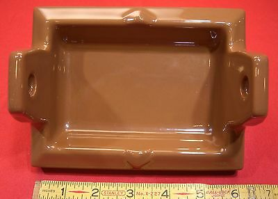 Vintage...Milk chocolate ... NOS... recessed…toilet paper holder by Fairfacts