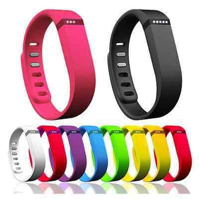 2 size Replacement WristBand Strap with Clasp for Fitbit Flex Activity Tracker Q