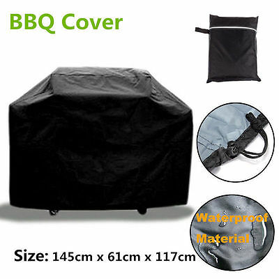 Large BBQ Cover Heavy Duty Waterproof Rain Snow Barbeque Grill Protector SA