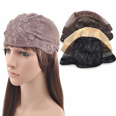 Flower Lace Wig Cap For Making Wigs Breathable Stretchable DIY Handmade 1 Pc