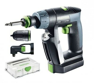 Festool Cordless Drill Cxs Li 2,6 Set 564532 Joinery Drilling Fastening Assembly