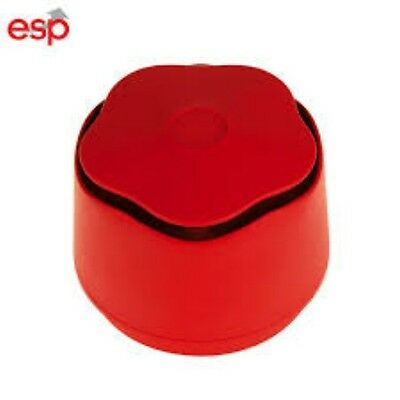ESP BA-2R Red Banshee Fire Alarm Sounder 87-112dBA