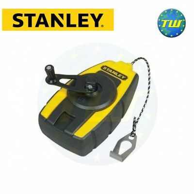 Stanley Tools Bricklayers Builders Compact Chalk Line Reel 9M 0-47-147 STA047147
