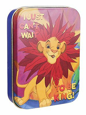 The Lion King I Just Can't Wait To Be King Collectors Tin Box Official Disney
