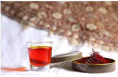Saffron %100 Organic Stigma-All Red-Purest In The World -4 Gram Package