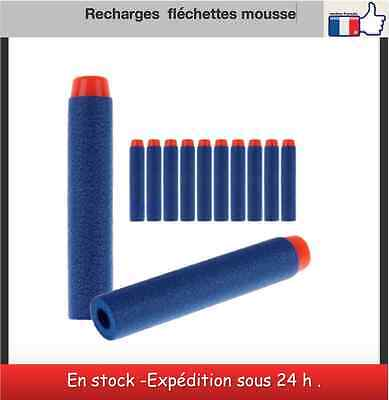 Fléchettes mousses Refill Bullet Darts for Nerf N-strike toy Gun