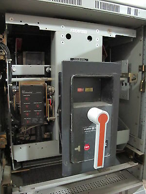 GE AKR-6D-75, 3200 Amp, Air Circuit Breaker, WITH MVT LSG- W/ TEST REPORT
