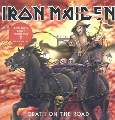 Iron Maiden - Death On The Road NEW 2 x LP