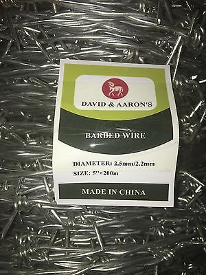 BARBED WIRE 200m Double strand