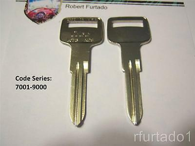 Key Blank for Volvo - Delorean - MG - Ignition - See Listing for Apps. - (VO73)