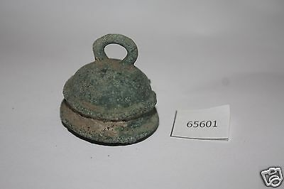 Ancient Steel Lid Green old 3.5x3x3 cm. Weight 20g. #65601