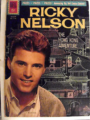Ricky Nelson #1192 -Aug 1961- The Hong Kong Adventure  Fn- (5.5)