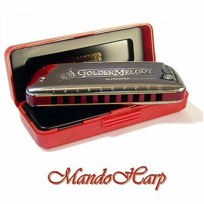 Hohner Harmonica - 542/20 Golden Melody (SELECT KEY) NEW
