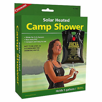 Coghlan's Solar Heated Camp Shower Backpacking Survival Camping Outdoor Kits