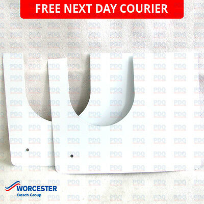 Worcester Firestop Plate C/W Screws 87180069070 - GENUINE, BRAND NEW & FREE P&P