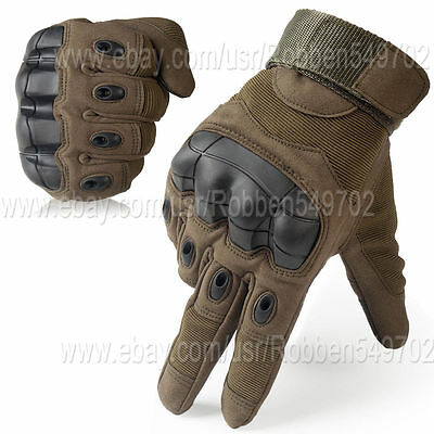 Tactical Gear Screen Military Outdoor Cycling Hard Knuckle Full Finger Gloves