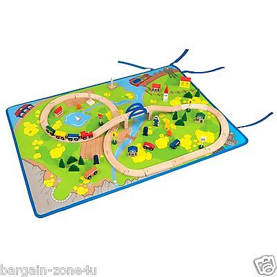 All Abroad Roll-Out Play Mat by Battat Kids Bedroom Rugs Cars Carpet Nursery