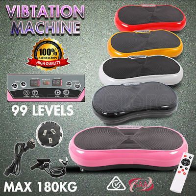OZ Vibration Machine Slim Body Platform Fitness Exercise Shaper Massager 180KG