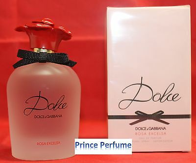 D&G DOLCE E GABBANA DOLCE ROSA EXCELSA EDP NATURAL SPRAY VAPO - 75 ml