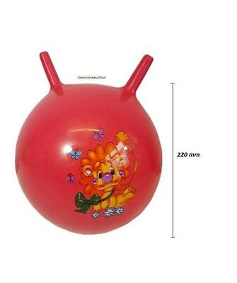 "8""5 Inch Large Jump N Bounce Space Hopper Retro Ball Un-Inflated Wholesale"
