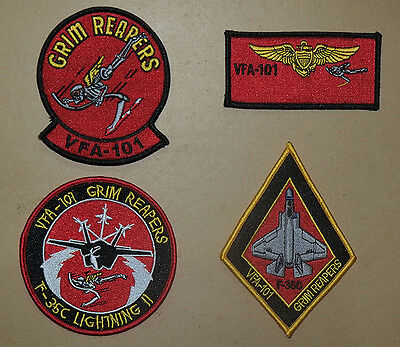USN patches set VFA-101