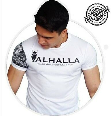 Valhalla Original Mens Training Tee Top T-Shirt
