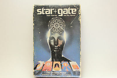 Star Gate Basic Card Set and Sky Spread Game 1984
