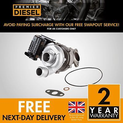 Ford Focus II 1.8 TDCi 85 Kw 115 HP 763647 turbocharger Turbo + Gaskets