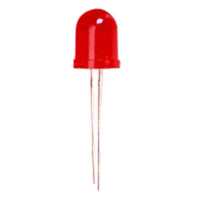 20pcs 10mm Red Emitting Diode Light Bright LED DT