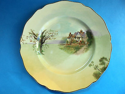 Royal Doulton English Cottages Seriesware - Rack Plate 1940